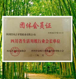 四川省生活用紙行業會長單位