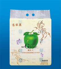 蝶花飛竹纖維藝術紙巾1012